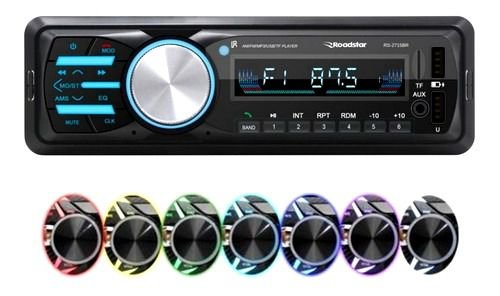 Som Automotivo Roadstar Rs-2715 Com Usb, Bluetooth E Leitor De Cartão Sd
