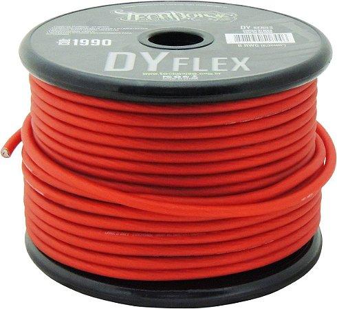 Cabo flexível de Alimentação Bateria/Som 21mm Vermelho