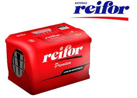 Bateria Reifor Premium 60Ah – RP60OPLD / RP60OPLE – Livre de Manutenção