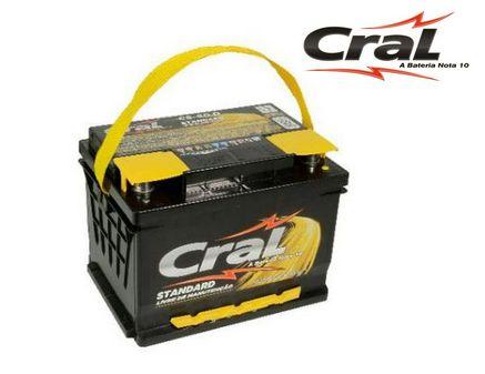 Bateria Cral Selada 60AH – CS60D – Livre De Manutenção ( Selada )