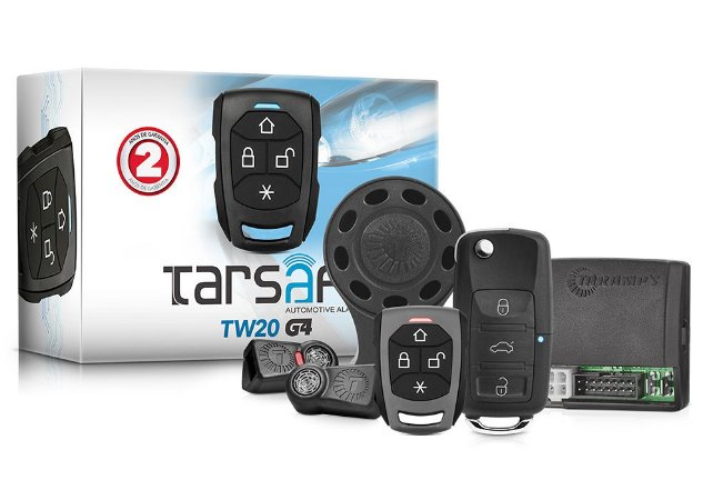 Alarme Automotivo Taramps TW 20CH G4 (Chave Canivete)