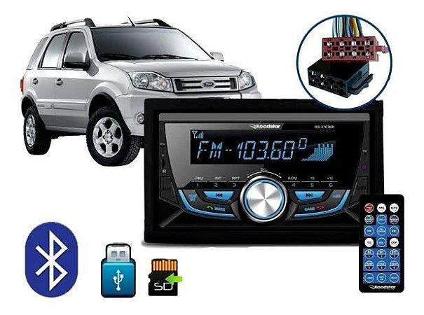 Double Din Roadstar RS3707BR USB/SD/Bluetooth/Aux/FM