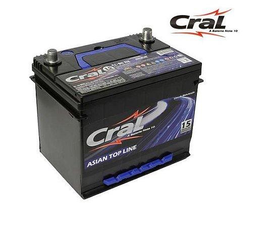 Bateria Cral Selada 80AH – CL80ND/CL80NE – Livre De Manutenção ( Selada )
