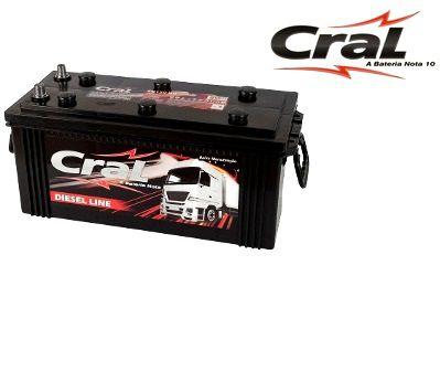 Bateria Cral Selada 180Ah – CB180D/ CB180E – Baixa de Manutenção