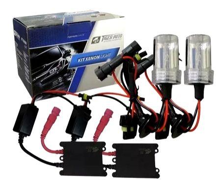 Kit Xênon Completo 2 Lâmpada 2 Reatores - Tiger Auto
