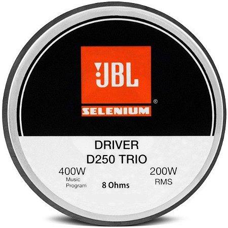 Driver JBL Selenium D250 200W RMS 8 Ohms Fenólico