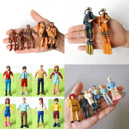 Miniaturas Seres Humanos / Hominídeos