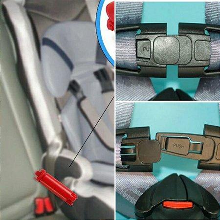 Travas para cinto de segurança da cadeirinha infantil do carro