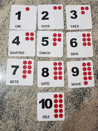 Flashcards para atividades de Matemática