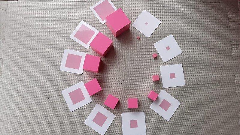 Flashcards para Pareamento com materiais Montessori