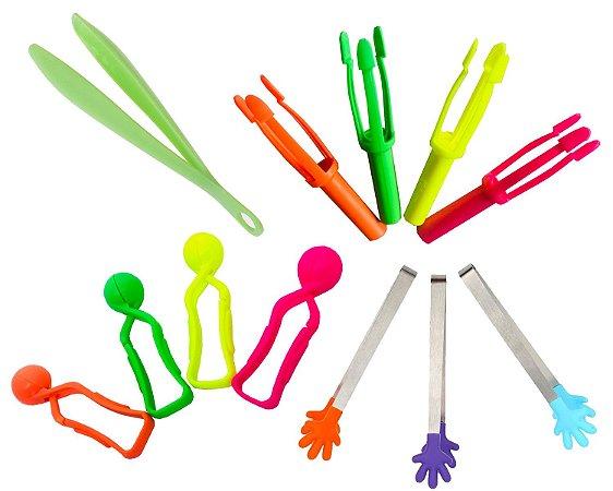 Pinças para atividades sensoriais