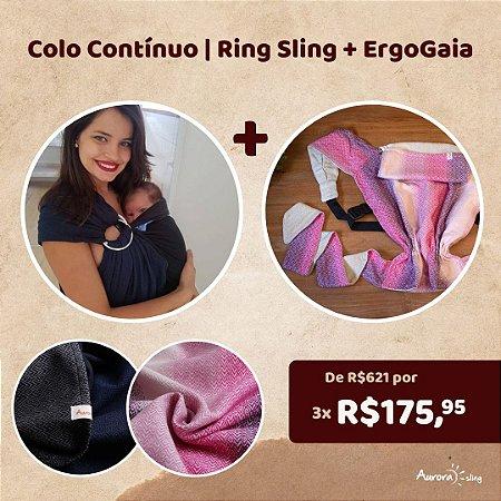 Colo Contínuo   Ring Sling + ErgoGaia Dedicação