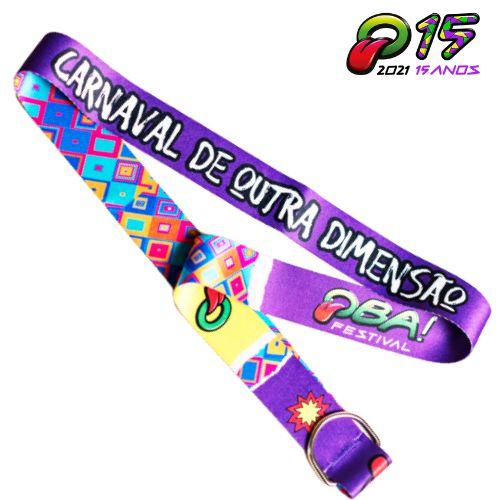 Tirante Caneca Oba Festival 2020 Roxo/Colors-Edição Especial