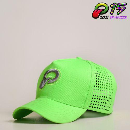 Boné Oba Festival 2020 Verde Fluor/Corte Laser-Edição Especial