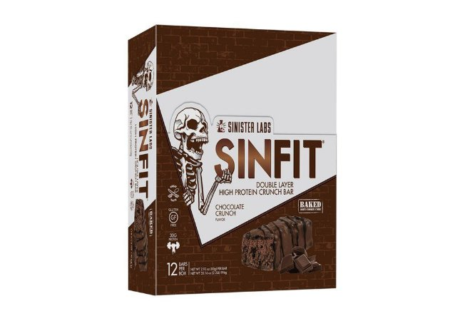 Sinfit Double Layer High Protein Bar (12 unid)