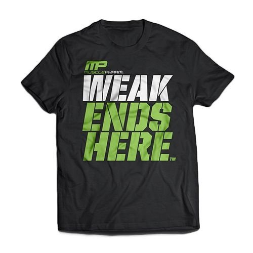 Musclepharm - Camiseta Weak Ends Here
