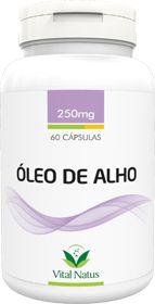 ÓLEO DE ALHO 250mg c/ 60 cápsulas - Vital Natus