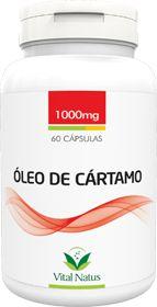 ÓLEO DE CÁRTAMO 1g c/ 60 Cápsulas - Vital Natus
