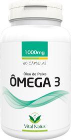 ÓLEO DE PEIXE (ÔMEGA 3) 1g c/ 60 cápsulas - Vital Natus