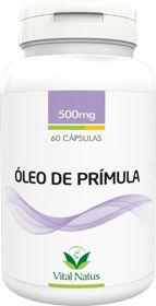 ÓLEO DE PRÍMULA 500mg c/ 60 cápsulas - Vital Natus