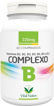 COMPLEXO B 220mg c/ 60 comprimidos - Vital Natus