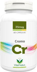 CROMO QUELATO 35mcg c/ 60 cápsulas