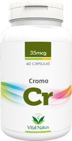 CROMO QUELATO 35mcg c/ 60 cápsulas - Vital Natus