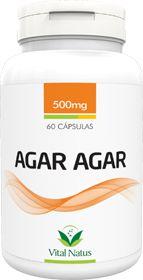 AGAR AGAR 500mg c/ 60 Cápsulas - Vital Natus