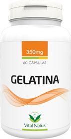 GELATINA 350mg c/ 60 cápsulas - Vital Natus