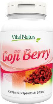 GOJI BERRY 500mg c/ 60 cápsulas - Vital Natus