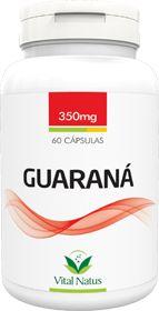 GUARANÁ 350mg c/ 60 cápsulas - Vital Natus