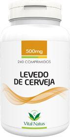 LEVEDO DE CERVEJA 500mg c/ 240 comprimidos - Vital Natus
