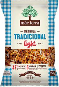 Granola Caseira Tradicional Light - 250g - Mãe Terra