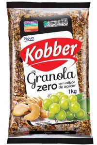 Granola Zero - Sem adição de Açúcar - 250g - Kobber