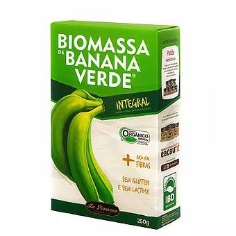 Biomassa de Banana Verde Integral 250g - La Pianezza