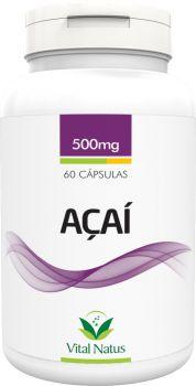 AÇAÍ 500mg c/ 60 cápsulas - Vital Natus
