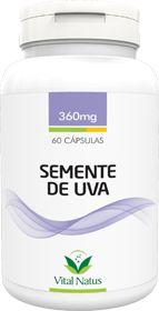 SEMENTE DE UVA 360mg c/ 60 cápsulas - Vital Natus