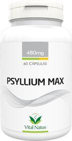 PSYLLIUM MAX 480mg c/ 60 cápsulas - Vital Natus