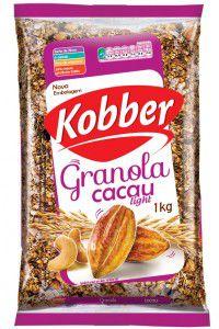 Granola Cacau Light 1Kg - Kobber