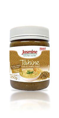 Tahine Creme de Gergelim Integral - 250g - Jasmine