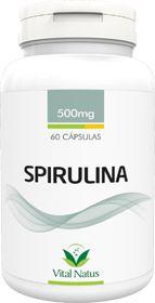 Spirulina 500mg c/ 60 cápsulas - Vital Natus