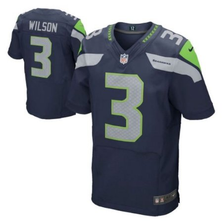 Camisa Seattle Seahawks Russell WILSON  3 Elite - Touchdown Store 720e1dc0433bb