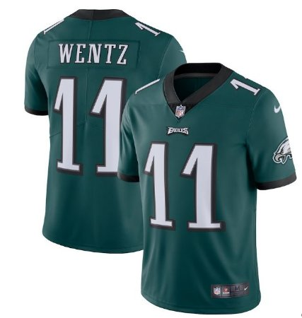 - 11 Wentz Carson Camisa Eagles Philadelphia