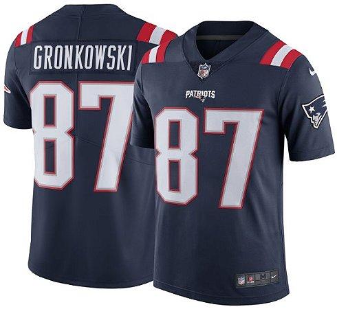 Camisa New England Patriots - COLOR RUSH - Rob GRONKOWSKI  87 ... eeda754701a