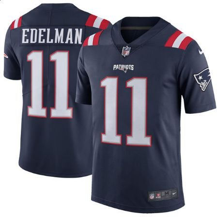 f9abece69 Camisa New England Patriots - COLOR RUSH - Julian EDELMAN   11 ...
