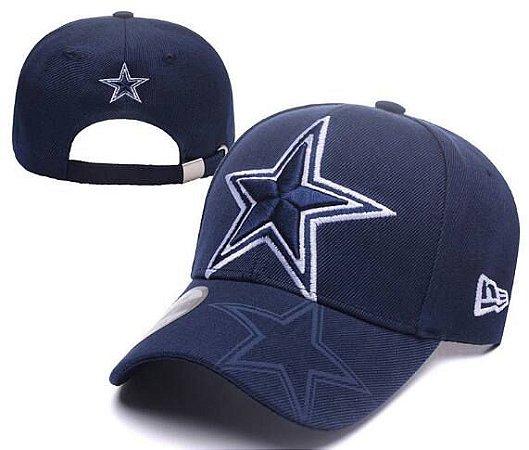4d9dbd24d Boné New Era Aba Curva Azul - Dallas Cowboys - Touchdown Store