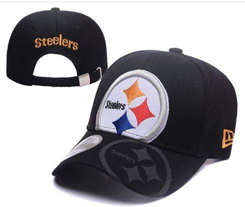 Boné New Era Aba Curva Preto - Pittsburgh Steelers