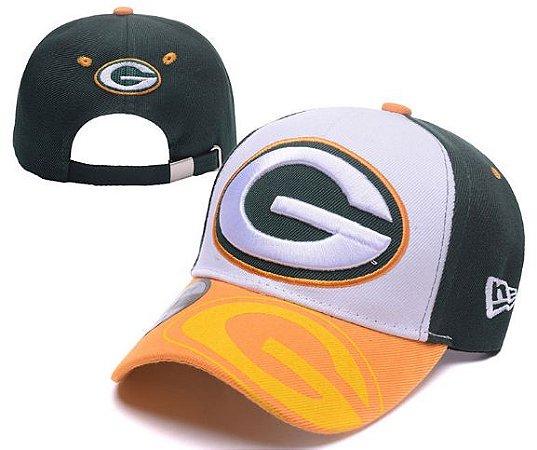 Boné New Era Aba Curva - Green Bay Packers