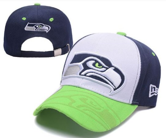 Boné New Era Aba Curva - Seattle Seahawks - Touchdown Store 5aa9b57417a
