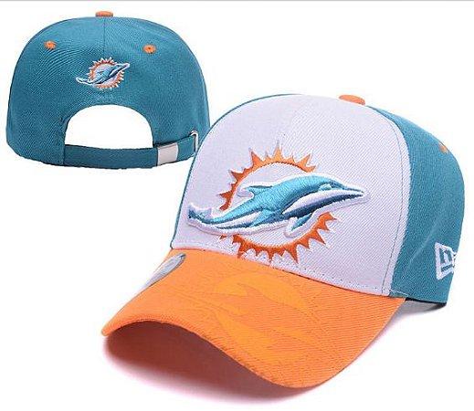 46664e9bc Boné New Era Aba Curva - Miami Dolphins - Touchdown Store